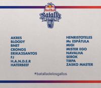 La última semifinal de la Batalla de Gallos se juega en Valencia