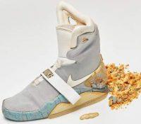 """Las zapatillas originales de """"Regreso al futuro II"""" se están desintegrando"""