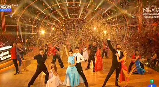 """David Bustamante, """"merecido"""" ganador de la primera edición de """"Bailando con las estrellas"""""""