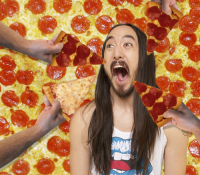 Steve Aoki sorprende con su propia cadena de pizzas