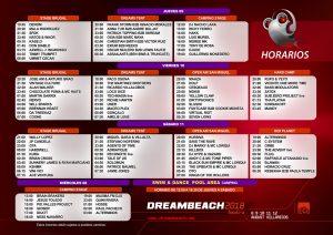 Dreambeach_2018_horarios