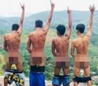 3 jóvenes detenidos por fotografiar su culo en Sri Lanka