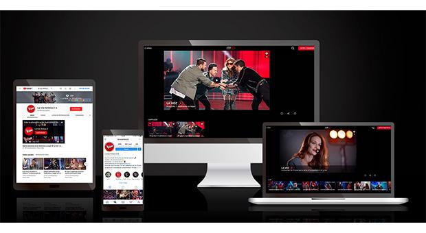 'La Voz' arrasa también en el entorno digital