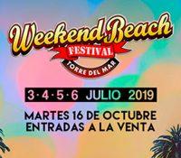 Weekend Beach Festival te trae una gran variedad de estilos para su 5º edición