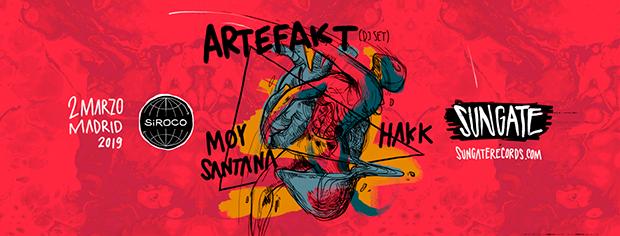 El dúo holandés Artefakt se estrena en la sala Siroco de Madrid de la mano de Sungate.