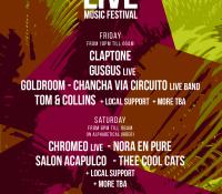 Live Music Festival anuncia más sorprendentes confirmaciones