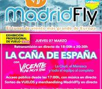 La Caña de España en vivo desde Madrid Fly