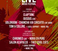 6 nuevas confirmaciones en el Live Music festival