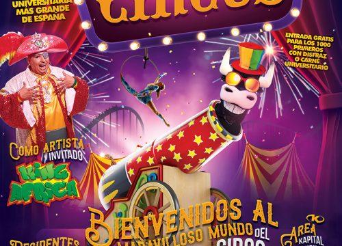 Universiparty Circus llega a Fabrik