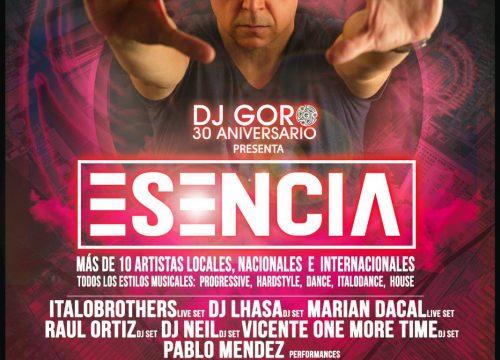 Trigésimo aniversario de DJ Goro