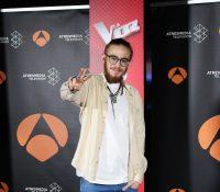 Andrés Martín el ganador de 'La Voz'