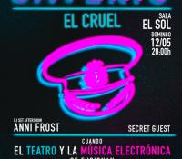 Llega a Madrid la pionera fusión de música electrónica y teatro: Saverio El cruel