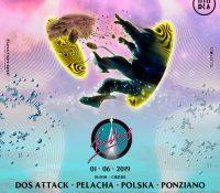 Halley recibe a Dos Attack, Pelacha y Polska