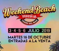 Weekend Beach Festival sigue sumando artistas a su cartelazo