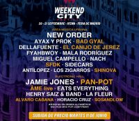 WEEKEND CITY MADRID VIENE PARA QUEDARSE