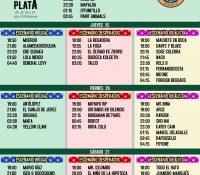 Se publican los horarios del Festival Cabo de Plata