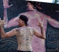 Funky Matas, el hombre de los 225 tatuajes