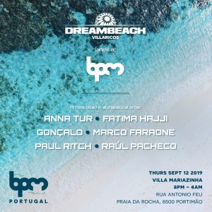 Dreambeach se expande con su participación en The BPM Portugal 2019