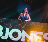 B Jones lanza su tour de otoño