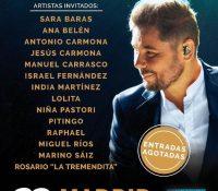 Miguel Poveda culmina su gira con las entradas agotadas