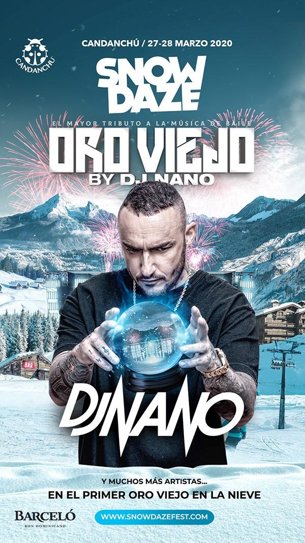Oro Viejo by Dj Nano llega a Snowdaze