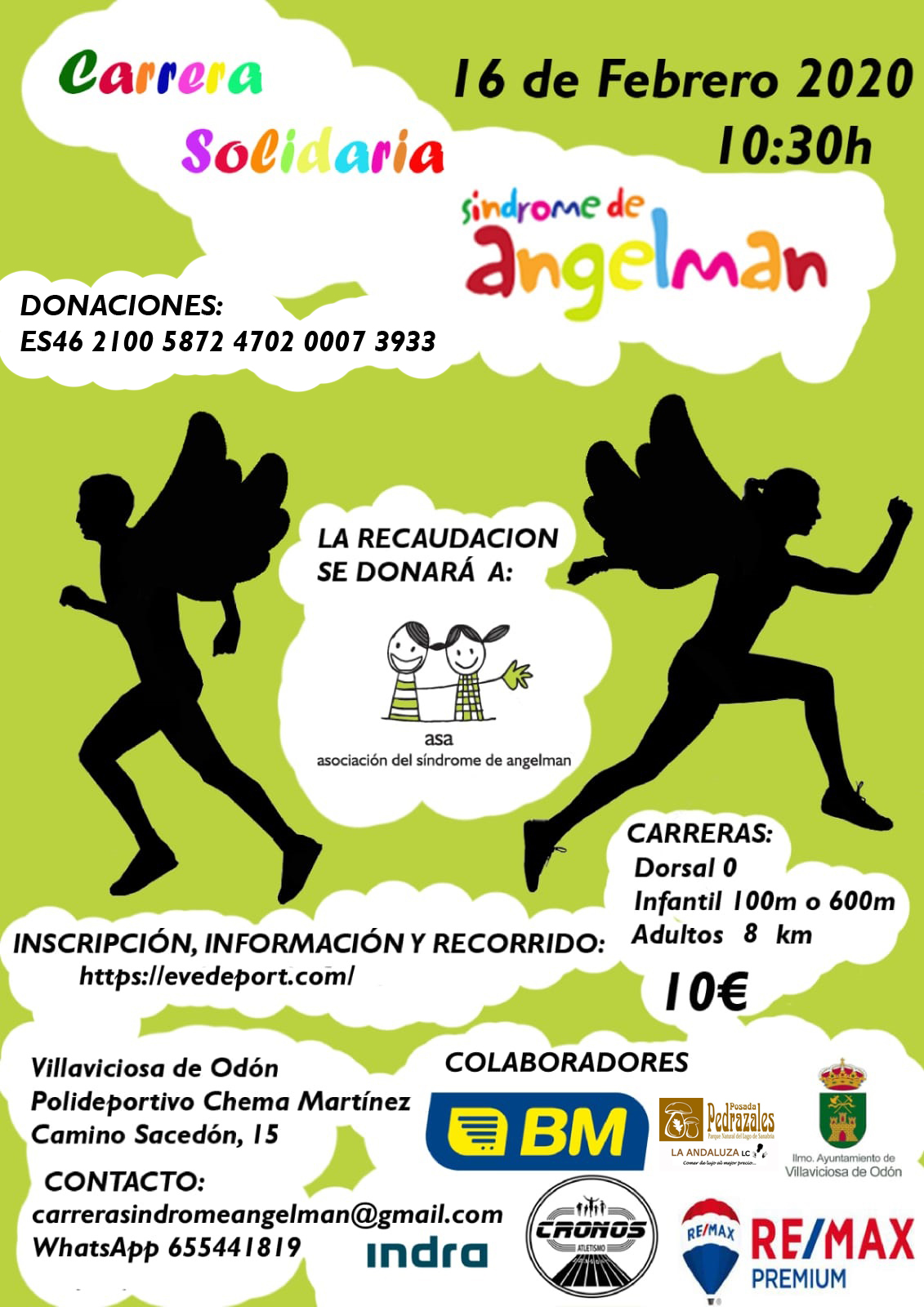 Carrera Síndrome de Angelman