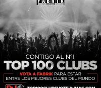 Ya está abierta la votación para entrar en el TOP 100 CLUBS de DJ Mag