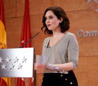 Isabel Díaz Ayuso, positivo en coronavirus