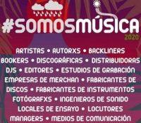 La industria musical se une en la campaña #SomosMusica