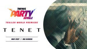 El nuevo trailer de 'Tenet' se estrenará en Fornite el 22 de Mayo