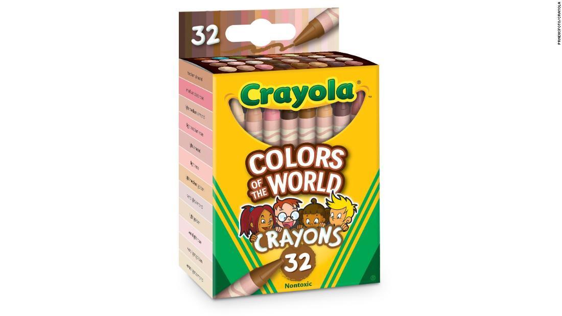 Crayola saca a la venta una caja de crayones con todos los tonos de piel del mundo