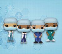 La empresa de juguetes Funko lanza unos muñecos sanitarios en honor a los héroes que luchan contra el coronavirus
