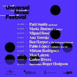 Universal music Festival cartel