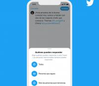 Tal vez puedas elegir quién puede responder a tus tweets