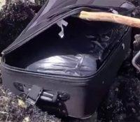 Tres adolescentes encuentran un cadáver en una maleta y lo suben a Tik Tok