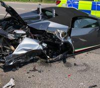 Destroza su nuevo Lamborghini solo 20 minutos después de comprarlo