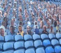 Bin Laden se cuela entre los seguidores del Leeds United en un estadio de Inglaterra