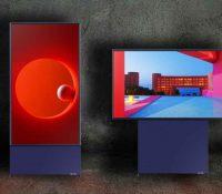"""""""The Sero"""": La nueva tv de Samsung que puede rotar como la pantalla de un móvil"""