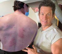 """Mark Wahlberg descubre  a los 49 años que es """"alérgico a casi todo"""""""