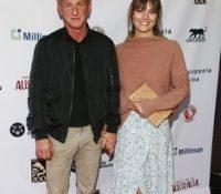 Sean Penn se casa en secreto con la joven Leila George