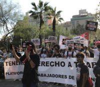 Protesta para salvar el ocio nocturno en Barcelona