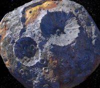 El asteroide que contiene oro en su interior