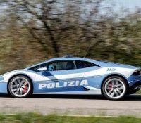 La policia utiliza un Lamborghini para llevar un riñón