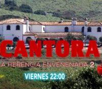 Telecinco repite con una nueva entrega de 'Cantora: La herencia envenenada' este viernes