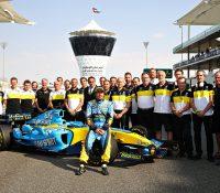 Fernando Alonso termina primero en las pruebas de Abu Dhabi