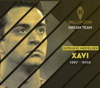 Xavi Hernández entra en el mejor once de la historia del fútbol