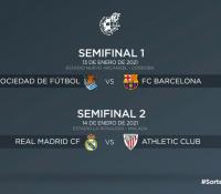 La Supercopa de España masculina y femenina ya conoce sus cruces