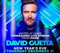 David Guetta volverá a realizar su stream benéfico 'United At Home' en Año Nuevo
