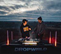 Third Party lanzan la nueva marca de ropa DROPWRLD a 30 metros de altura