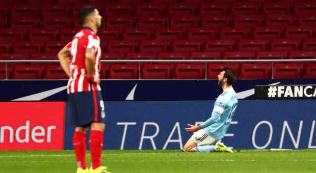 El Atlético empata ante el Celta y reaviva LaLiga